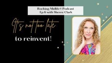 Rocking Midlife Podcast Sheree Clark